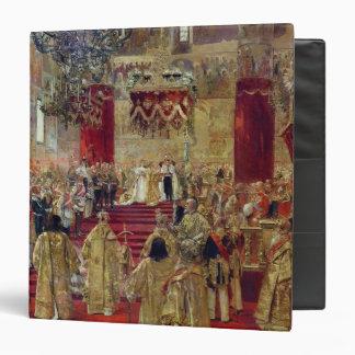 """Estudio para la coronación del Tsar Nicolás II Carpeta 1 1/2"""""""