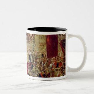 Estudio para la coronación del Tsar Nicolás II Tazas De Café