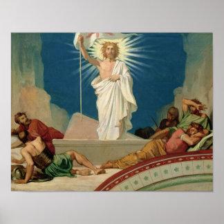 Estudio para la resurrección de Cristo, 1860 Impresiones