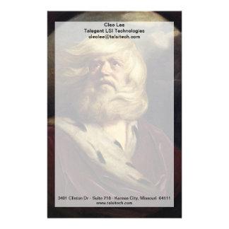 Estudio para rey Lear - Joshua Reynolds Papeleria De Diseño