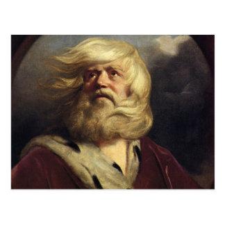 Estudio para rey Lear - Joshua Reynolds Postal