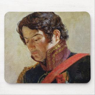 Estudio para un retrato de barón Dominique Larrey Alfombrilla De Raton