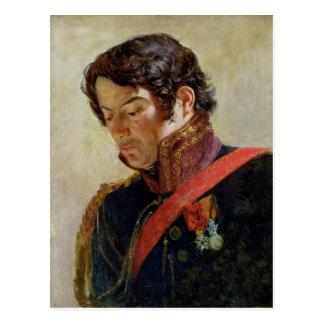 Estudio para un retrato de barón Dominique Larrey Postal