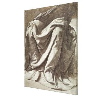 Estudio para una figura asentada c 1475-80 de la impresion en lona