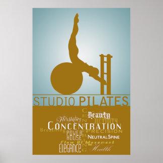 Estudio Pilates - poster