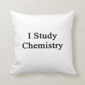 Estudio química almohada
