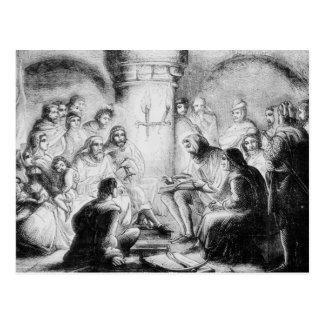 Estudio secreto de la biblia de Wycliffe Tarjetas Postales
