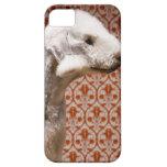 Estudio tirado de Bedlington Terrier iPhone 5 Funda