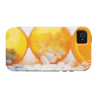 Estudio tirado de la botella de la medicina con la iPhone 4/4S carcasa