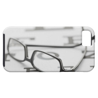 Estudio tirado de lentes en carta de ojo funda para iPhone 5 tough