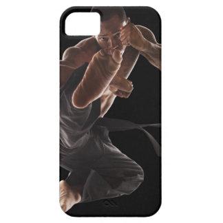 Estudio tirado de médico de los artes marciales iPhone 5 fundas