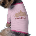 Estudios de los derechos ropa de perros
