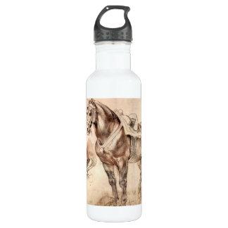 Estudios del caballo de Paul Rubens Botella De Agua De Acero Inoxidable