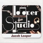 Estudios del Looper Alfombrillas De Ratón