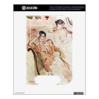 Estudios del retrato de Jeanne Pontillon por Moris VTech V.Reader Skin