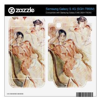 Estudios del retrato de Jeanne Pontillon por Moris Samsung Galaxy S 4G Calcomanía