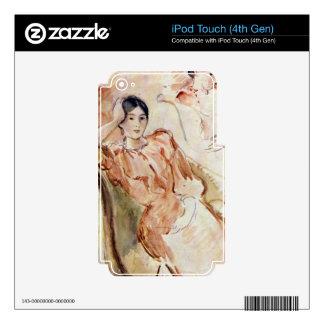Estudios del retrato de Jeanne Pontillon por Moris Skins Para iPod Touch 4G