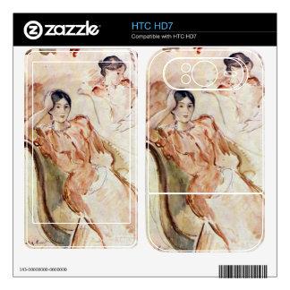 Estudios del retrato de Jeanne Pontillon por Moris Skins Para HTC HD7