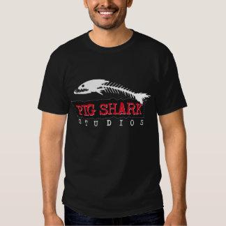 Estudios del tiburón del cerdo playera
