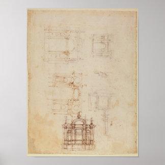 Estudios para la composición arquitectónica póster