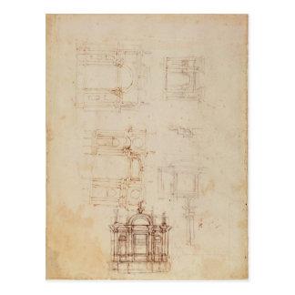 Estudios para la composición arquitectónica postal