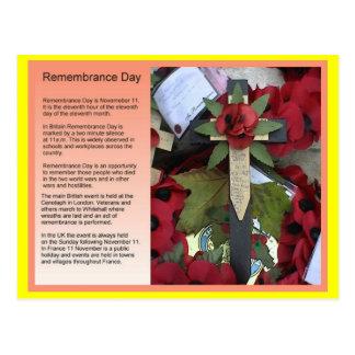 Estudios sociales, historia, día de la conmemoraci tarjetas postales