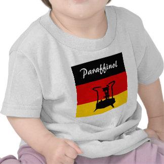 Estufa alemana de la presión de la bandera el   camisetas
