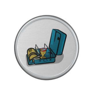 Estufa de campo azul del vintage de Packaway 8r Altavoz Bluetooth