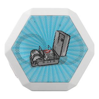 Estufa de campo de la presión del vintage altavoces bluetooth blancos boombot REX