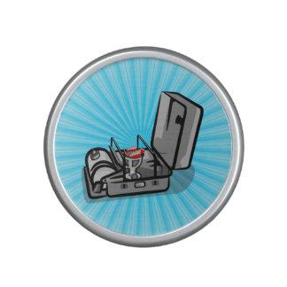 Estufa de campo de la presión del vintage altavoz