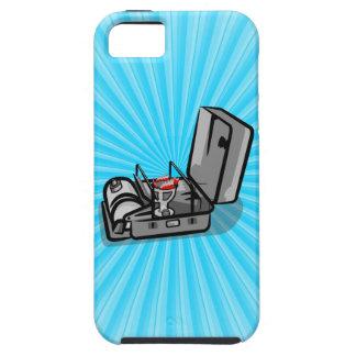 Estufa de campo de la presión del vintage iPhone 5 fundas