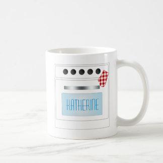 Estufa de cocina personalizada con la puerta del taza clásica