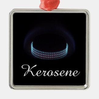 Estufa silenciosa de la presión del keroseno de la adorno cuadrado plateado
