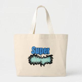 Estupendo cargado bolsa de tela grande