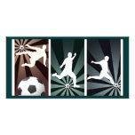 estupendo-fútbol tarjetas fotograficas