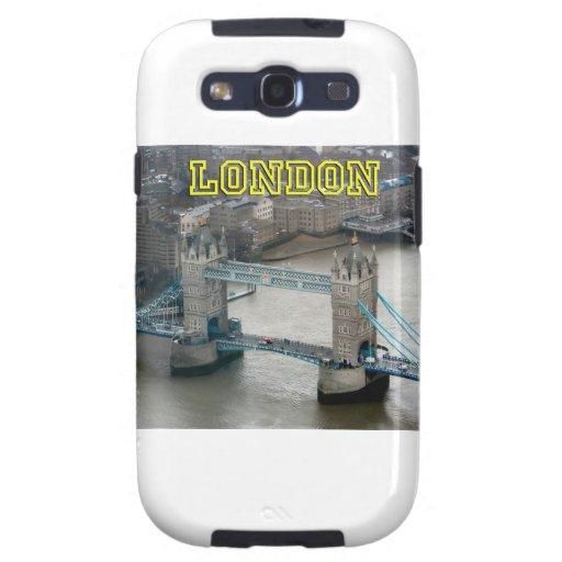 ¡Estupendo! Puente Londres de la torre Galaxy S3 Protector