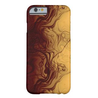 Estupendo refresque el modelo ambarino Marbleized Funda De iPhone 6 Barely There