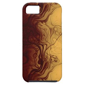 Estupendo refresque el modelo ambarino Marbleized iPhone 5 Carcasa