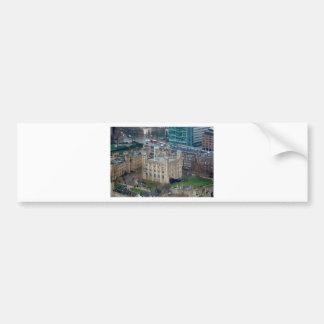 ¡Estupendo Torre de Londres Inglaterra Etiqueta De Parachoque
