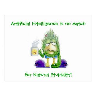 Estupidez natural postal