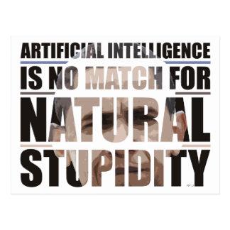 Estupidez natural postales