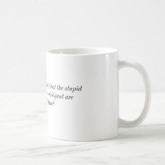 ¡Estúpido en propósito Tazas De Café