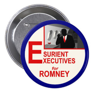 Esurient Executives for Romney Button