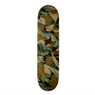 Esvoir Camo Mark 1 Skatedeck Skateboard