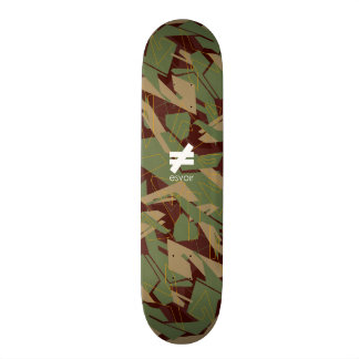 Esvoir Camo Mark 4 Skateboard Deck