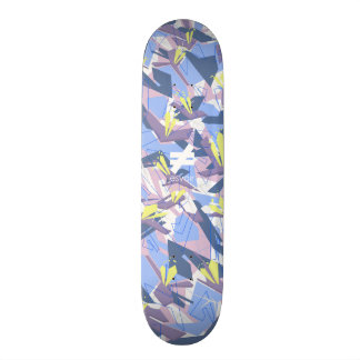 Esvoir Camo Mark 7 Lavenders Skateboard