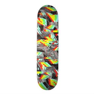 Esvoir Trippy Camo Skateboard