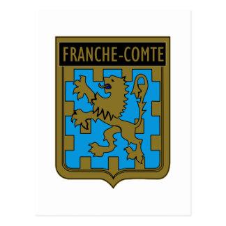 ET 2/61 Franche-Comté Postcard