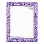 ET Circuity - Dark Purple (320070) Customized Letterhead