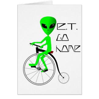 ET Go Home! Card